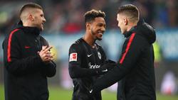 Eintracht Frankfurt setzte sich gegen den FC Augsburg durch
