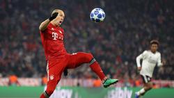 Arjen Robben machte gegen Benfica ein starkes Spiel