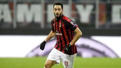 Spielt seit 2017 für den AC Mailand: Hakan Calhanoglu