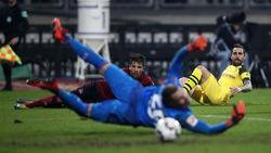 Christian Mathenia sicherte Nürnberg im Spiel gegen den BVB einen wichtigen Punkt im Abstiegskampf