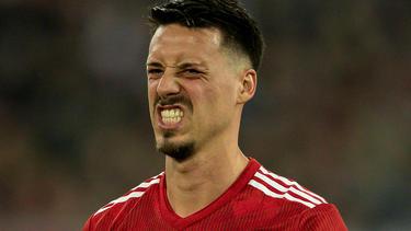 Sandro Wagner verließt den FC Bayern im Januar in Richtung China