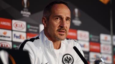 Adi Hütter und Eintracht Frankfurt erwarten Quali-Gegner