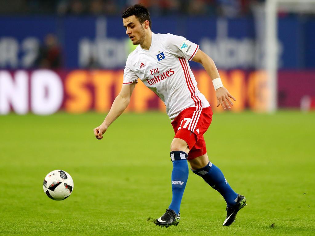 Filip Kostić ist von der Qualität des HSV überzeugt