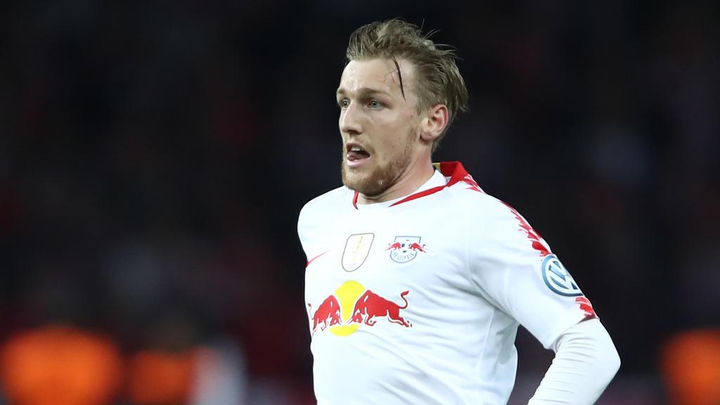 Emil Forsberg steht seit 2015 bei RB Leipzig unter Vertrag