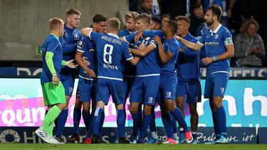 Der 1. FC Magdeburg schielt in der 3. Liga auf die Aufstiegsränge