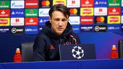 Niko Kovac freut sich auf das Auswärtsspiel des FC Bayern in der Champions League