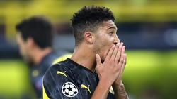 Jadon Sancho stand gegen Gladbach nicht im Kader des BVB