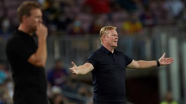 Ronald Koeman unterlag mit dem FC Barcelona gegen den FC Bayern