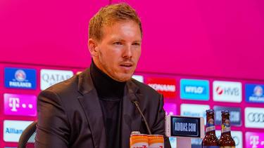 Julian Nagelsmann vom FC Bayern ist an Corona erkrankt