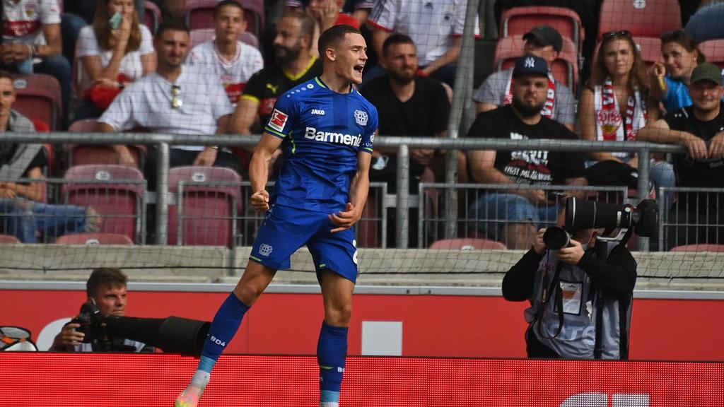 Florian Wirtz glänzt bei Bayer Leverkusen