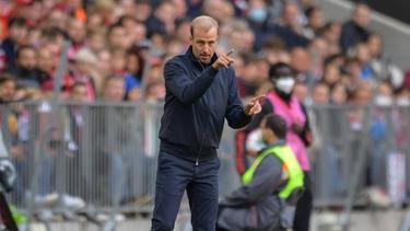 Verlor mit Hoffenheim deutlich beim FC Bayern: Sebastian Hoeneß