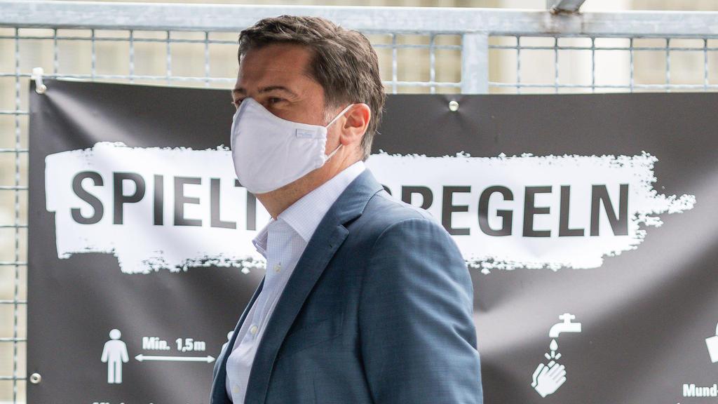 DFL-Boss Christian Seifert mahnt zur Ruhe