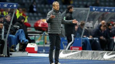 Verließ Hertha BSC nicht ganz geräuschlos: Ex-Coach Jürgen Klinsmann