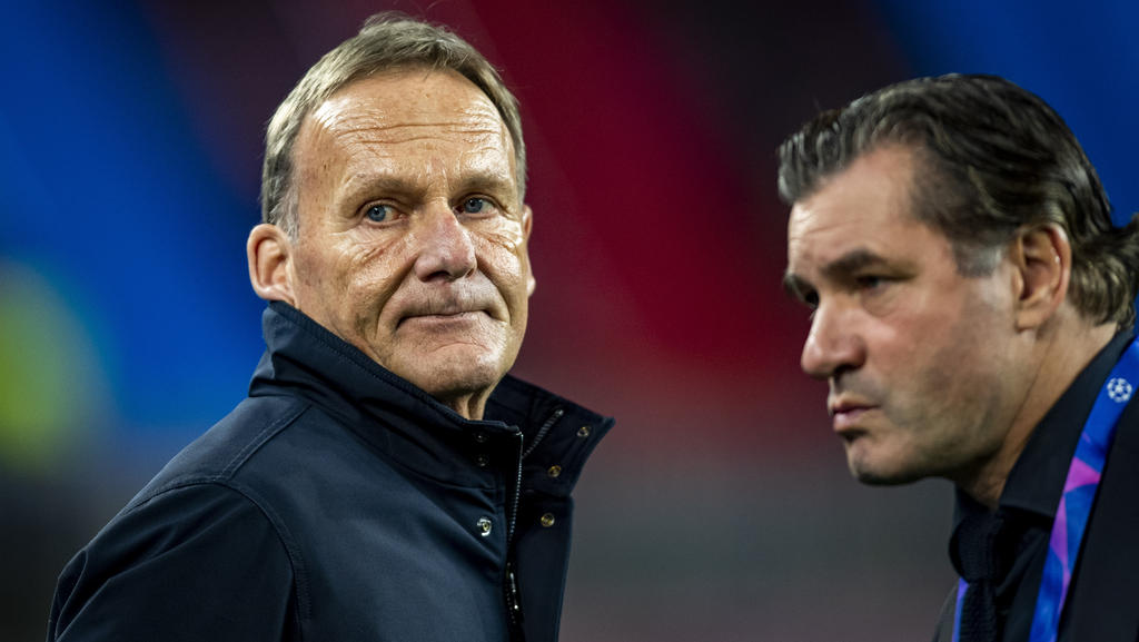 BVB-Sportdirektor Michael Zorc (r.) wirft Uli Hoeneß vom FC Bayern Arroganz vor