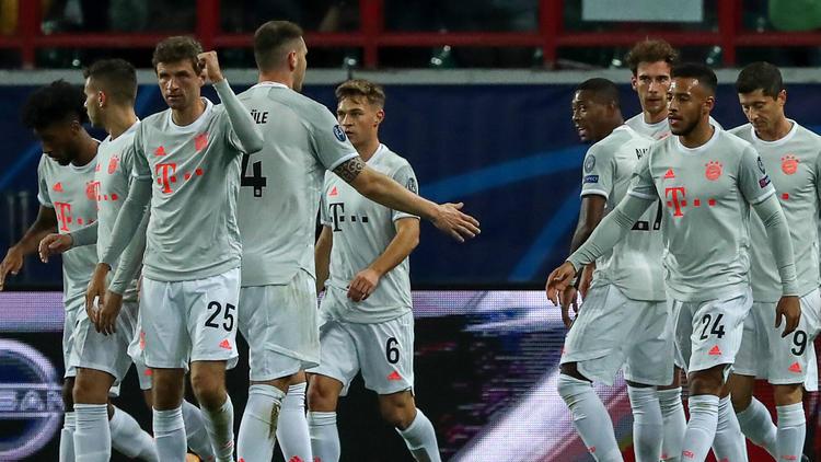 Der FC Bayern fuhr einen knappen Sieg bei Lok Moskau ein