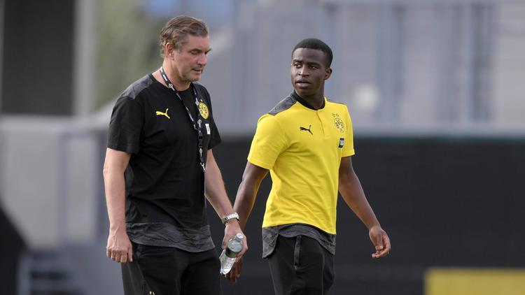 Steht BVB-Juwel Youssoufa Moukoko gegen Eintracht Frankfurt in der Startelf?