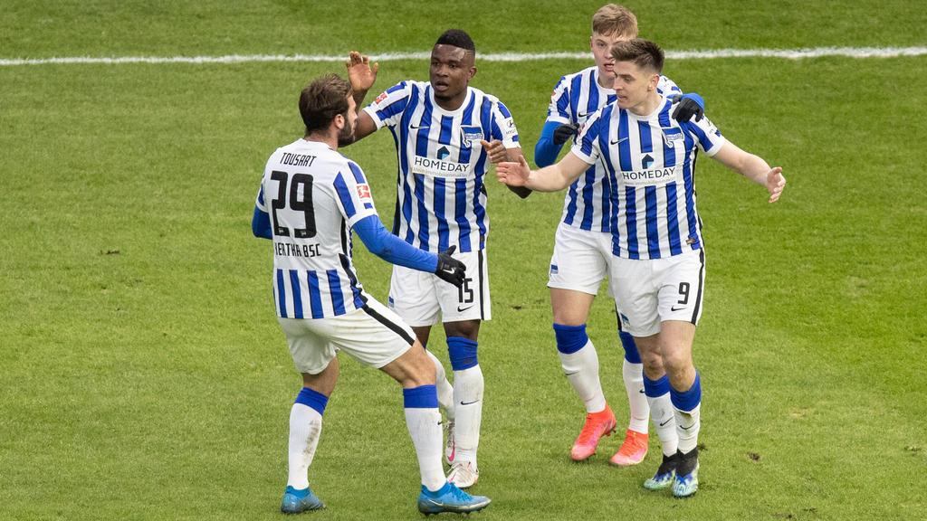 Hertha BSC hat gegen den FC Augsburg trotz eines Rückstands gewonnen