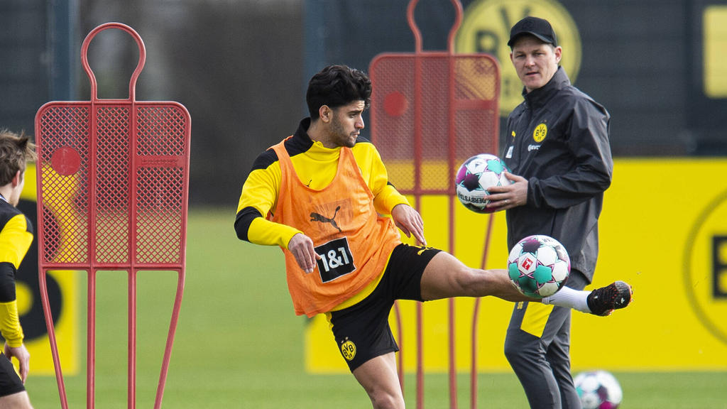 Mahmoud Dahoud spielt seit 2017 beim BVB