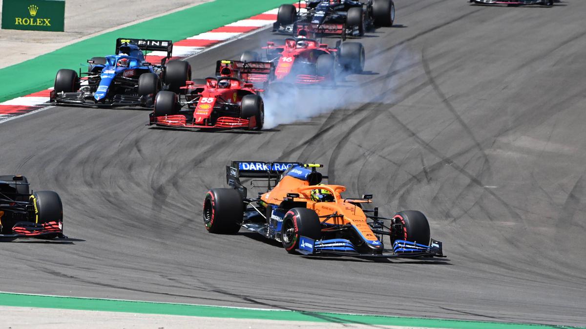Lando Norris konnte die überlegene Konkurrenz in der Formel 1 zumindest punktuell ärgern