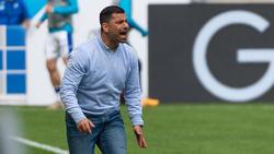 Dimitrios Grammozis droht beim FC Schalke 04 womöglich das Aus