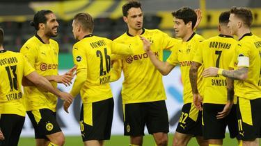 Der BVB trifft am Donnerstag im DFB-Pokalfinale auf RB Leipzig - ohne Fans