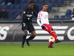 Gegen Salzburg hat Davidson Drobo-Ampem schon in der Europa League gespielt