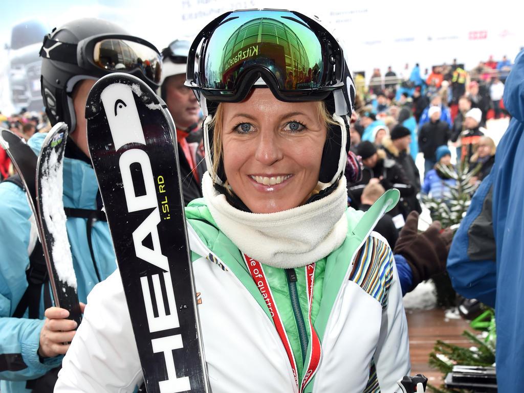 Martina Ertl-Renz bewertete den Riesenslalom von Pyeongchang
