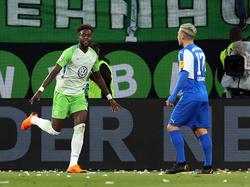 Divock Origi traf für den VfL zum 1:0