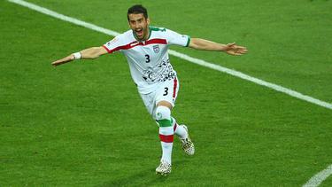 Der Iraner Ehsan Hajsafi spielt schon seit Januar in Piräus