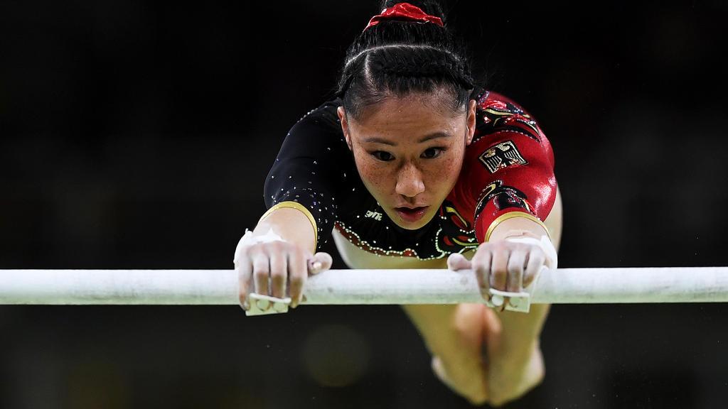 Kim Bui erreicht das Finale am Stufenbarren