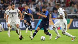 Nabil Fekir stand im Hinspiel gegen Deutschland auf dem Rasen - im Rückspiel fehlt er