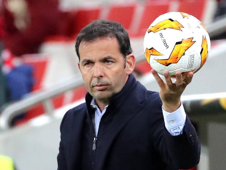 Villarreal-Trainer Javier Calleja steht unter Druck. © imago/ITAR-TASS/Sergei Fadeichev