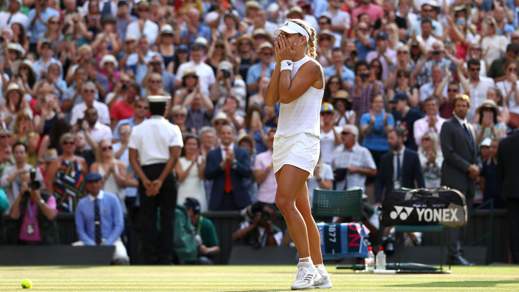 Angelique Kerber siegte 2018 in Wimbledon