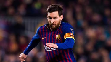 Lionel Messi trug sich einmal mehr in die Torschützenliste ein