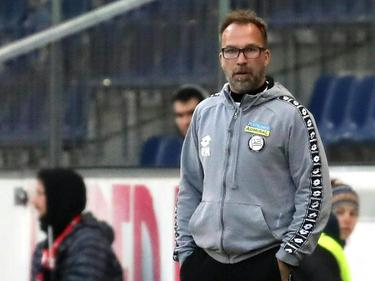 Sturm-Trainer Roman Mählich glaubt an einen Sieg