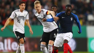 Deutschlands U21 kommt in Essen nicht über ein 2:2 gegen Frankreich hinaus