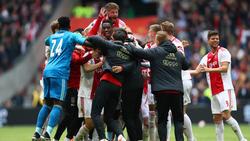 Ajax kann die Meisterfeier planen