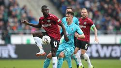 Ilhas Bebou ist mit Hannover 96 abgestiegen
