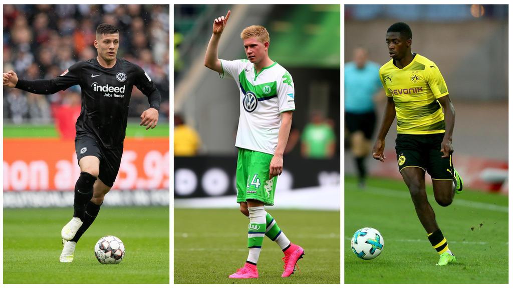 BVB und Eintracht Frankfurt kassieren ab: Die Rekordabgänge der Bundesliga