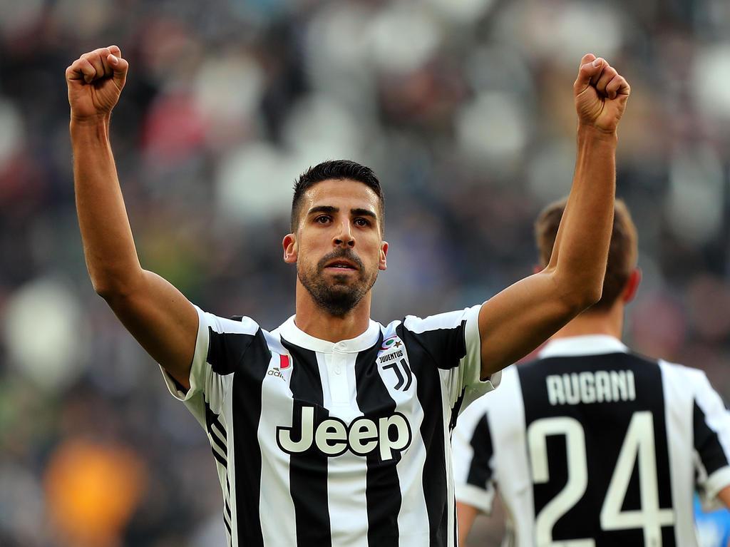 Sami Khedira hat für Juventus doppelt getroffen