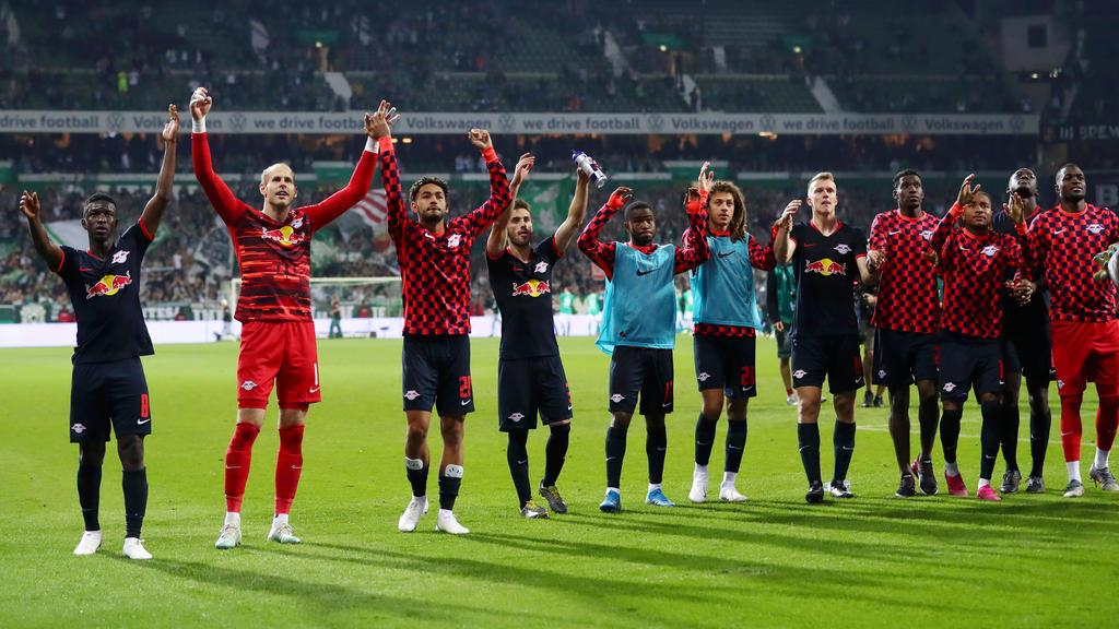 RB Leipzig feierte einen Sieg bei Werder Bremen