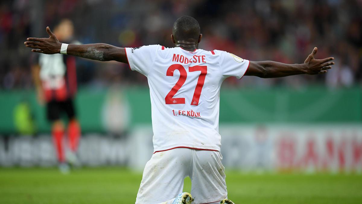 Anthony Modeste will beim 1. FC Köln an alte Tage anknüpfen