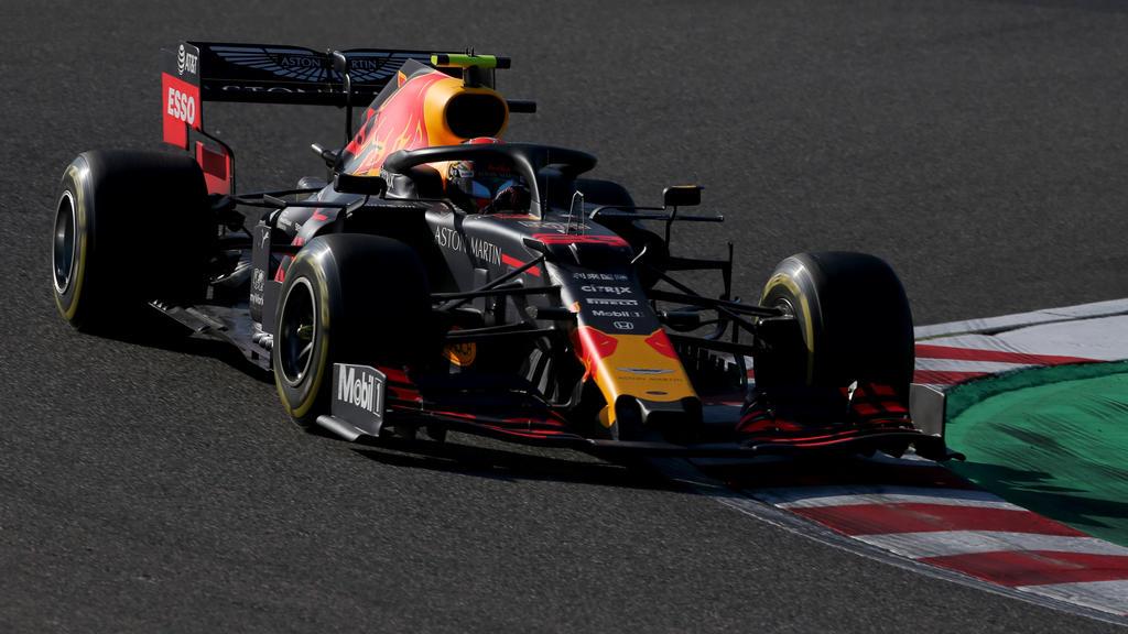 Alexander Albon überzeugte die Red-Bull-Bosse in Japan