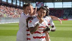 Fortuna Düsseldorf hat beim FC Ingolstadt gewonnen