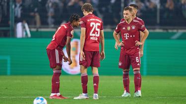 Der FC Bayern hatte gegen Gladbach wenig zu lachen