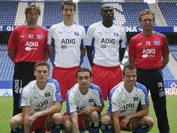 Der HSV präsentiert seine Neuzugänge im Sommer 2005