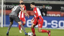 Tim Kleindienst (r.) erzielte gegen den Club zwei Tore