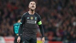 Jordan Henderson fällt beim FC Liverpool für drei Wochen aus