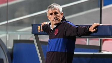 Quique Setien ist seit Januar 2020 Barca-Coach