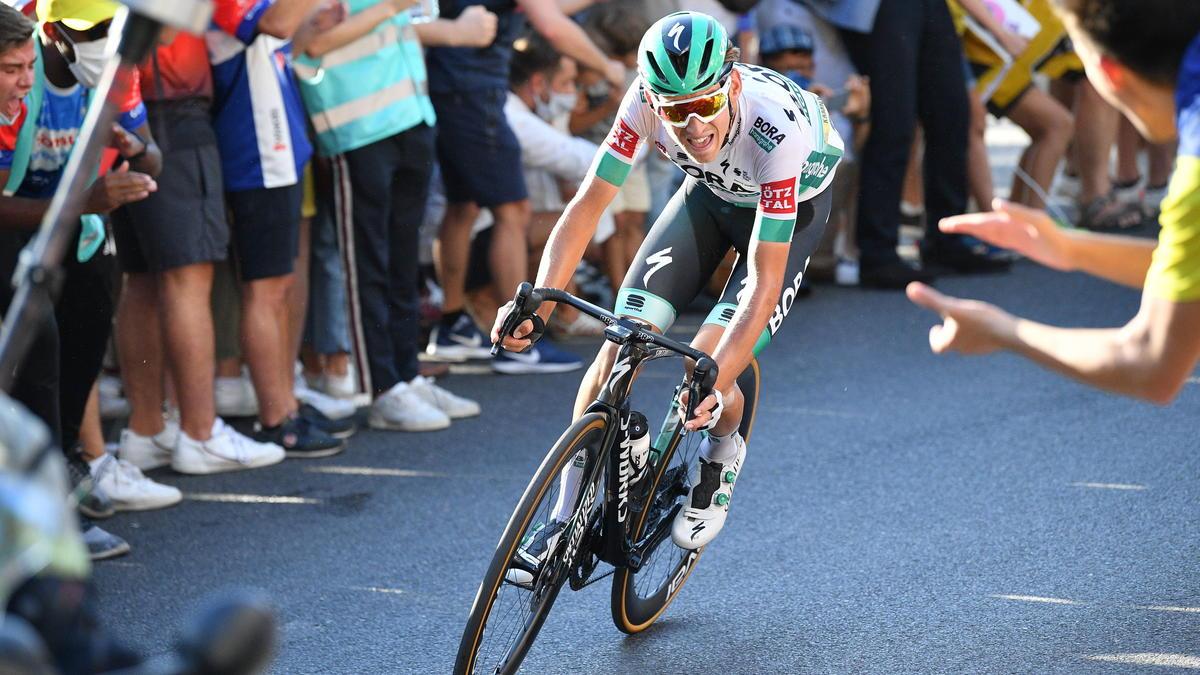 Lennard Kämna hat die 16. Tour-Etappe gewonnen